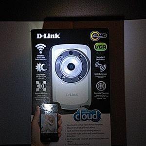 D-LINK Surveillance Wi-Fi CAMERA -Pics show seal